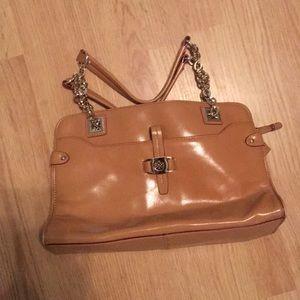 Antonio Melania camel purse